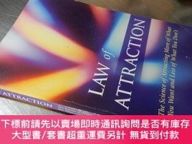二手書博民逛書店Law罕見of Attraction【大32開 英文原版】吸引力定律Y16472 Michael J. Los
