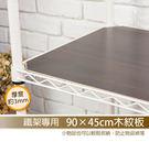 鐵架專用-90x45cm木紋板