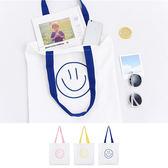 帆布袋 手提包 帆布包 手提袋 環保購物袋--手提/單肩【SPYF01】 icoca  08/24