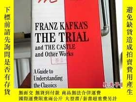 二手書博民逛書店Franz罕見Kafkas Trial the Castle a