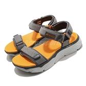 Skechers 涼鞋 Max Cushioning Sandal Elapidae 男鞋 灰 厚底 跑鞋中底 休閒鞋【ACS】 229010GYOR