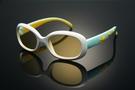 《FUTIS》AHT 兒童抗藍光眼鏡 防藍光 濾藍光 3C護目鏡 抗UV 防止眼睛疲勞 AB0006_C2 亮白色