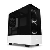 【免運費】NZXT 恩傑 H510 Elite 數位控制 全透側 ATX 電腦機殼 / 2色可選 / 原廠兩年保固