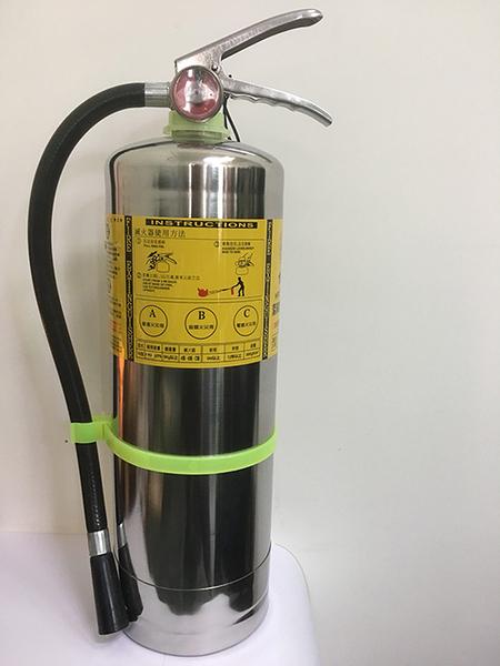 【預購】10 型 HFC-227ea 潔淨氣體滅火器 白鐵 不鏽鋼 滅火器
