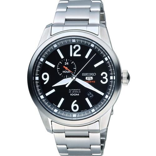 SEIKO 精工 經典五號盾牌軍用風格機械錶