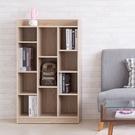 書櫃 收納櫃【收納屋】萊斯十一格櫃-淺橡木色&DIY組合傢俱