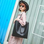 單肩包女大包2018時尚新款簡約托特包手提學生大容量購物袋百搭潮