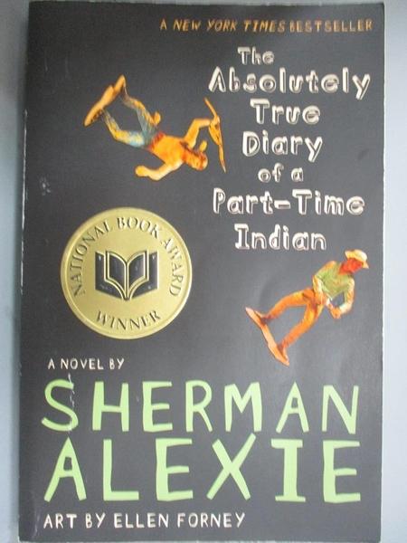 【書寶二手書T1/原文小說_JHZ】Absolutely True Diary of a Part..._Sherman Alexie