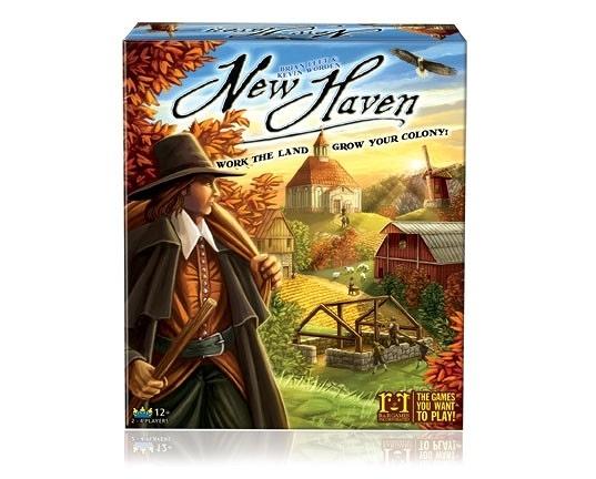 [KANGA GAMES] 新世界 New Haven #R&R Games 桌遊 家庭策略桌上遊戲