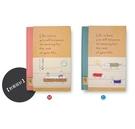 【筆坊】青青文具 CD-3250 簡單生活系列 32K布質精裝心情日記手札