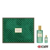 Gucci 記憶之水中性淡香精禮盒 60ml ( 兩件組 ) *10點半美妝館*