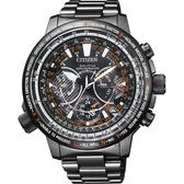 林威助教練配戴 CITIZEN 星辰 PROMASTER 30週年光動能 鈦 GPS衛星對時手錶-44mm CC7015-55E