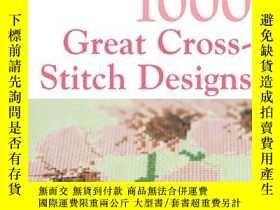 二手書博民逛書店1000罕見Great Cross Stitch Designs