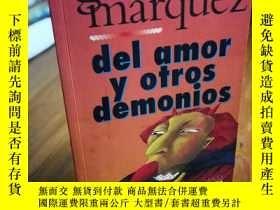 二手書博民逛書店Del罕見amor y otros demonios (Span