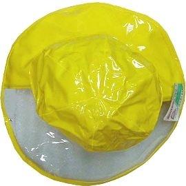 【波克貓哈日網】兒童雨帽 ◇寬緣透明安全設計◇《黃色》56cm~~參考產品特色