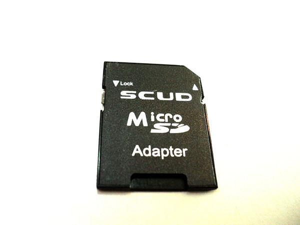 ✔SCUD microSD 轉 SD 轉卡