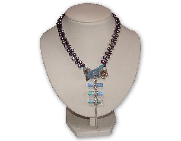 鹿港窯~居家開運琉璃 珠寶 項鍊~三生緣◆附精美包裝 ‧免運費送到家