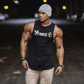 新款無袖速干健身衣男背心寬鬆型運動跑步籃球吸汗透氣坎肩T恤夏【尾牙交換禮物】