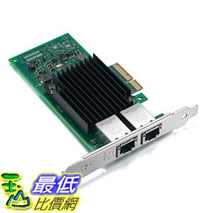 [107美國直購] 網路卡 For Intel X550-T2, 10GbE Converged Network Adapter(NIC), X550 Chipset, PCI-E X4