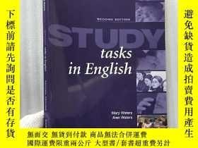 二手書博民逛書店Study罕見Tasks in English(Student`