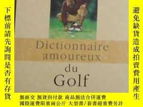 二手書博民逛書店法文原版罕見dictionnaire amoureux du g