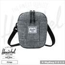 Herschel 側背包 灰色 萬用休閒斜背包 手機隨身包 Cruz-919 MyBag得意時袋