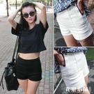 夏季新款高腰牛仔短褲女韓版修身顯瘦翹臀緊身熱褲彈力學生aa短褲