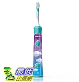 [104美國直購] 兒童電動牙刷 Philips Sonicare for Kids Connected Sonic Electric Toothbrush, HX6321/02