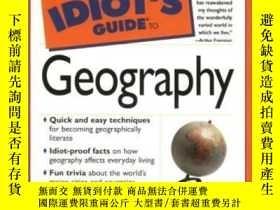 二手書博民逛書店Complete罕見Idiot s Guide To Geogr