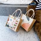 帆布包 日系帆布包女包包2021夏天新款潮韓版百搭斜挎包手提包少女小布包【快速出貨八折下殺】