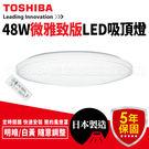 Toshiba 吸頂燈 LED智慧調光 羅浮宮吸頂燈 微雅緻版 LEDTWTH48EC