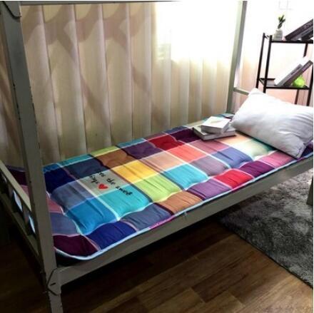 床墊 防潮加厚單人床墊0.9m學生床墊上下鋪床墊1.0m褥子榻榻米【快速出貨八折搶購】
