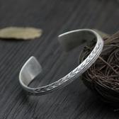 純銀手環(泰銀)-時尚有型生日情人節禮物女手鐲73gg94【時尚巴黎】