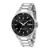MASERATI 瑪莎拉蒂 經典三針時尚腕錶44mm(R8853140002)
