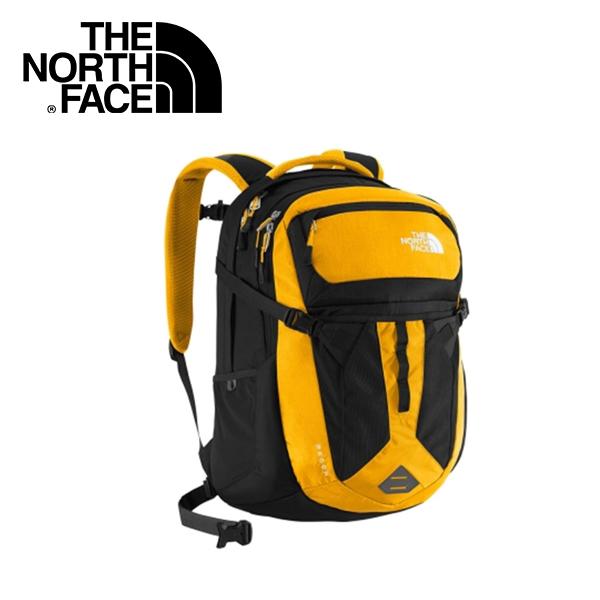 【The North Face 31L 15吋電腦背包《光譜黃/黑》】CLG4/出國/旅遊/休閒