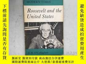 二手書博民逛書店Roosevelt罕見and the United States
