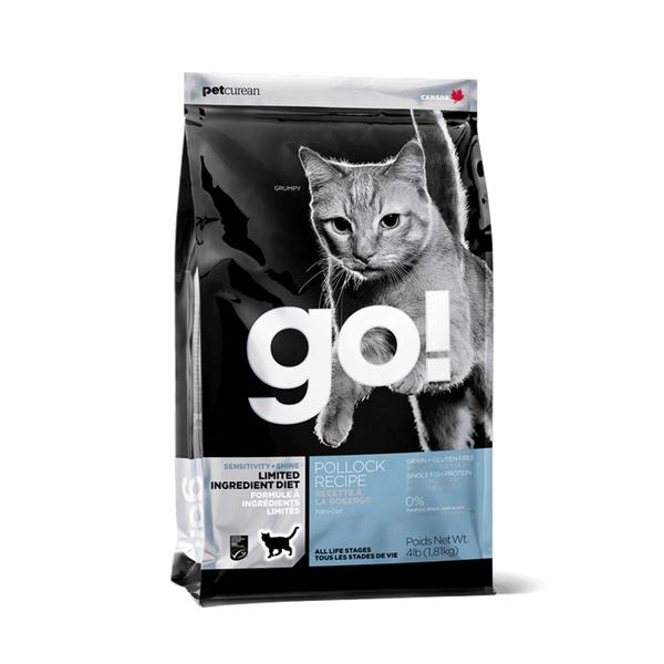 [寵樂子]《go頂級抗敏糧》低致敏鱈魚無穀貓糧 - 4LB / 貓飼料