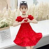 女童雪紡裙子夏裝兒童夏季碎花連身裙洋氣韓版2020新款薄款公主潮 童趣屋