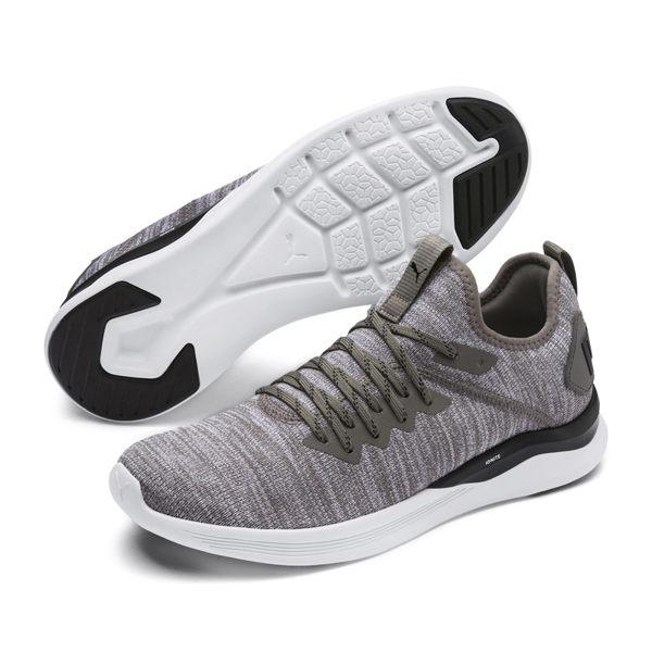 Puma Ignite 男 灰 運動鞋 休閒鞋 慢跑 健身 編織 輕量 透氣 訓練 19050818