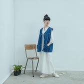 Queen Shop【01085366】中山領半開襟打褶設計洋裝 兩色售*現+預*