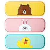 筆袋現貨韓國Line Friends可愛布朗熊可妮兔鐵鉛筆盒文具盒桌面收納盒-大小姐韓風館