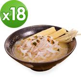 樂活e棧 低卡蒟蒻麵 鐵板細麵+濃湯(共18份)