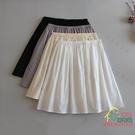 短裙 純棉半身襯裙漢服防透防走光安全短裙內搭打底裙中長款內襯裙內襯 限時折扣