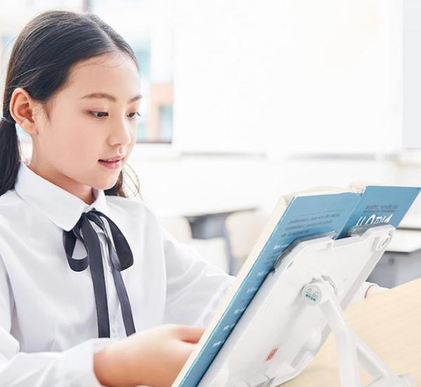 便攜閱讀架讀書架成人看書架神器夾書器書架簡易桌上學生用書立架  免運快速出貨