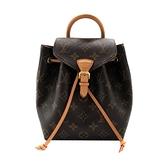 【台中米蘭站】全新品 Louis Vuitton 新款 Montsouris BB 帆布後背包(M45502-咖)