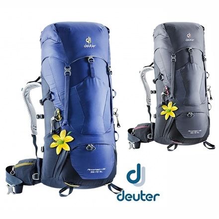 丹大戶外【Deuter】德國 AIRCONTACT LITE 拔熱式透氣背包35+10SL 兩色 3340018 後背包