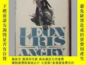 二手書博民逛書店英文原版罕見The Angry Hills by Leon Ur