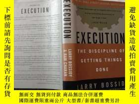 二手書博民逛書店Execution:The罕見Discipline of Getting Things DoneY4485