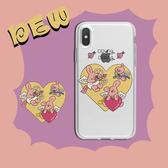 iPhone11ProMax 蘋果手機殼 可掛繩 邱比特三隻小豬 矽膠軟殼 iX/i8/i7/i6s