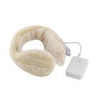 Lourdes電池式溫熱保暖耳罩(米白色...